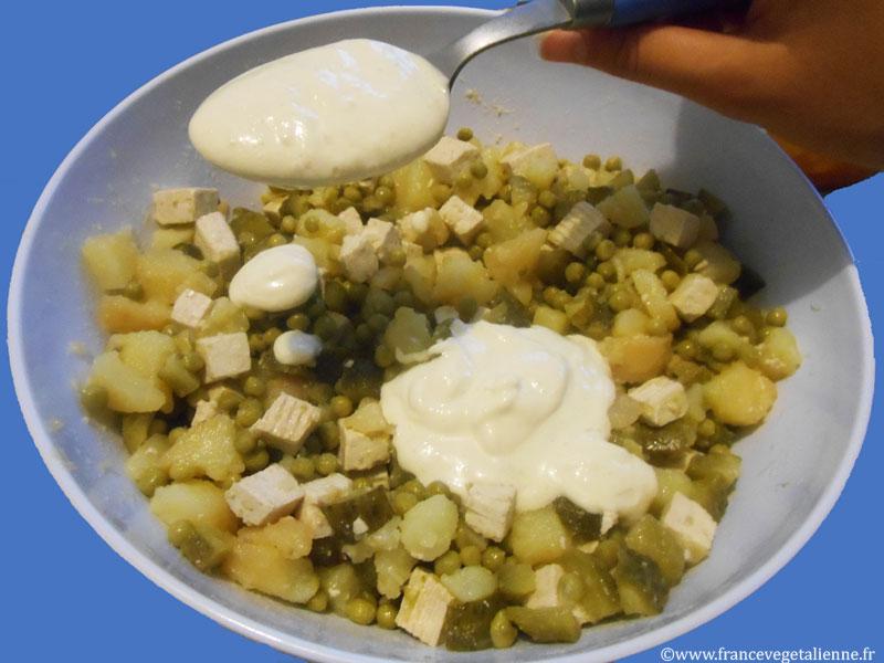 Mayonnaise végétale (sans oeuf)