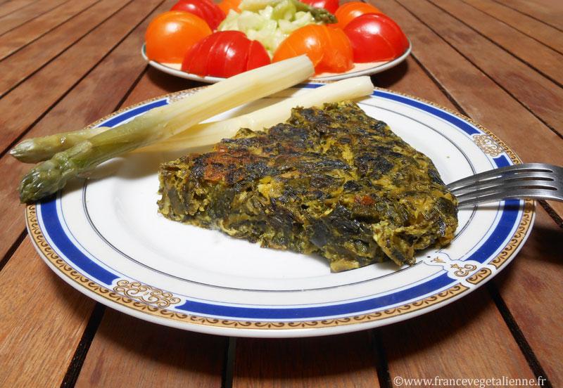 Trouchia (omelette aux blettes;sans oeuf)