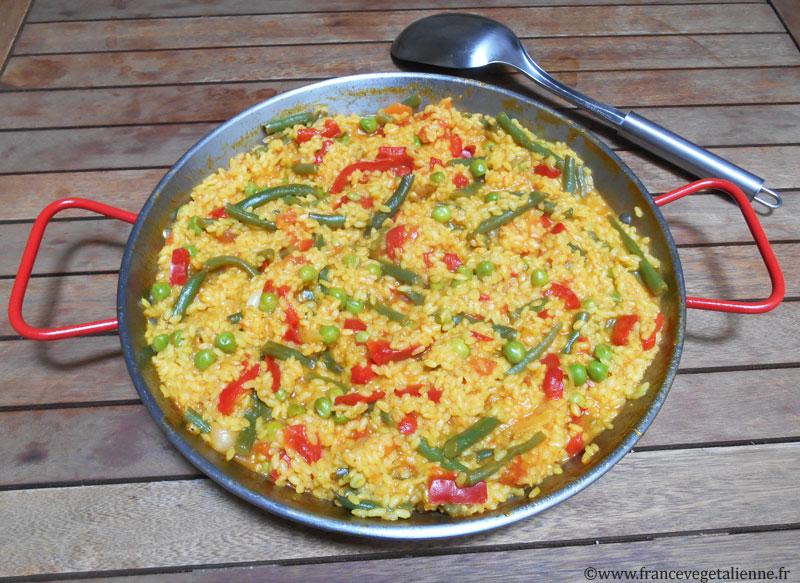 Paëlla aux légumes (recette végane)
