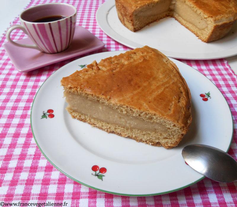 Gâteau basque (recette végétalienne)