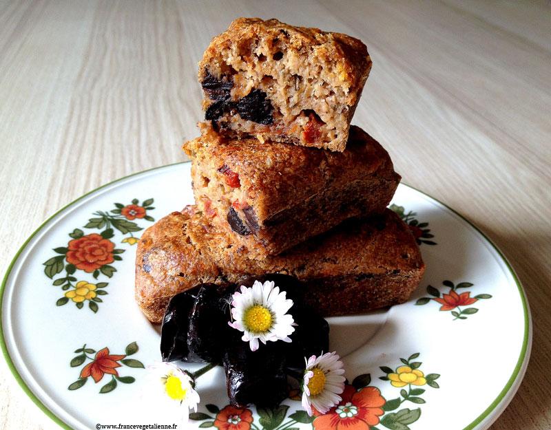 Cake aux olives (sans produit laitier, sans oeuf, sans gluten, sans soja)