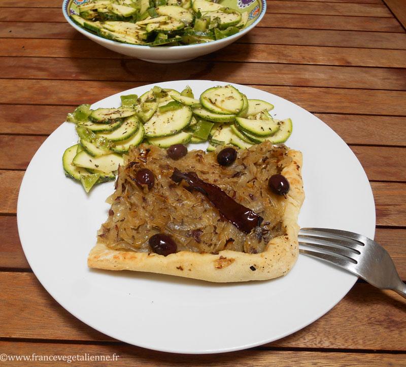 Pissaladière (recette végane)