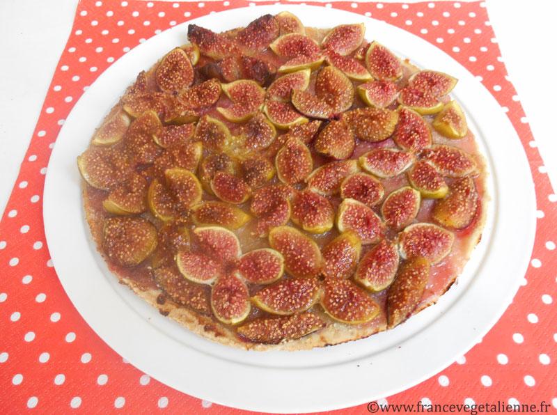 Tarte aux figues (recette vegan)