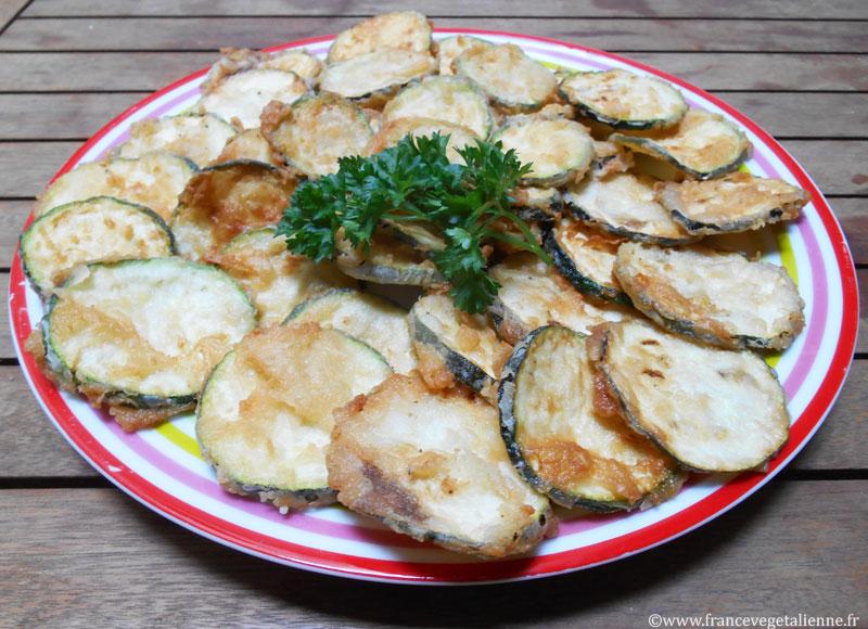 Beignets de courgettes (recette vegan)