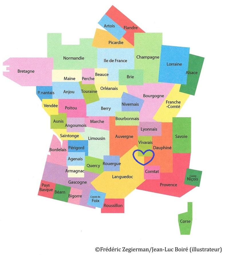 Spécialité du Languedoc, Vivarais et Dauphiné