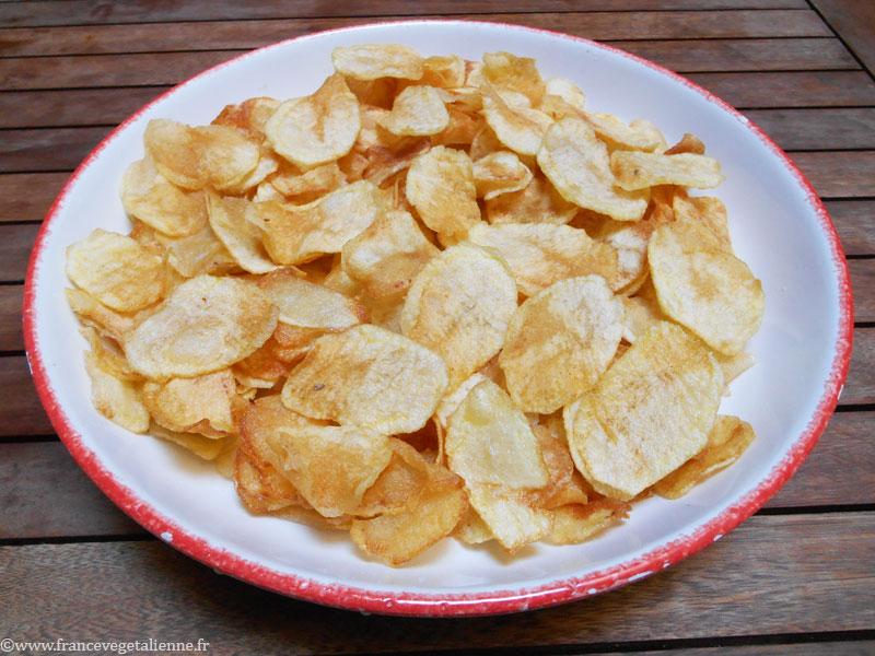 Chips (recette vegan)