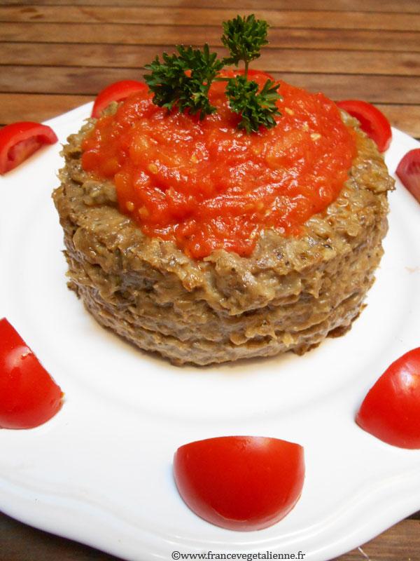 Papeton d'aubergine (recette végane)