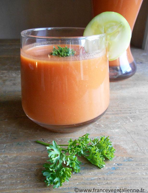 Gaspacho (recette végane)