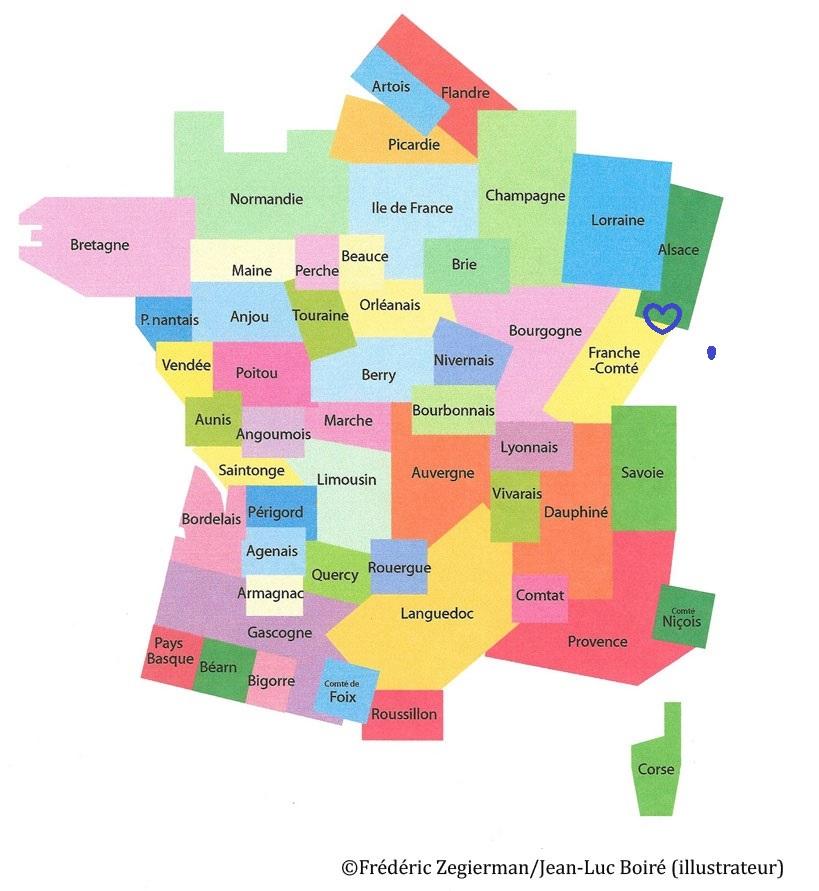 Spécialité d'Alsace et de Franche-Comté