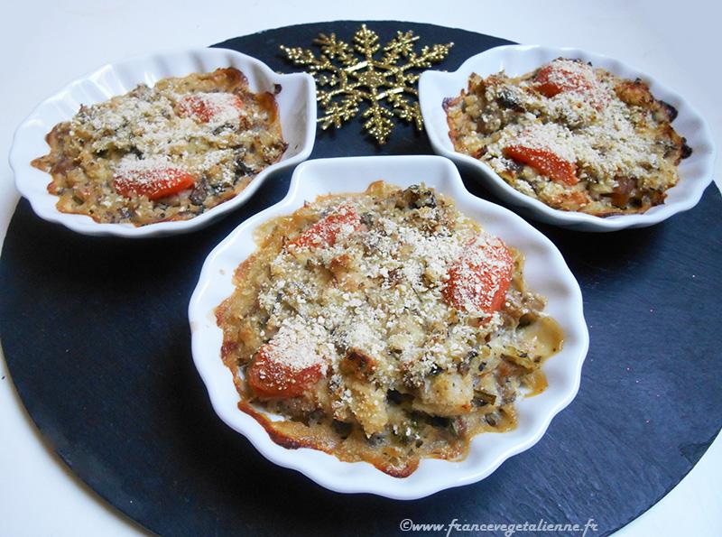 Coquille à la bretonne (recette végétarienne)