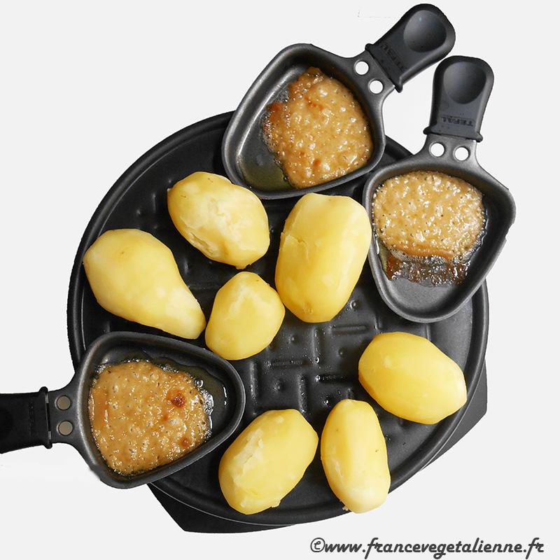 Raclette (recette végane)