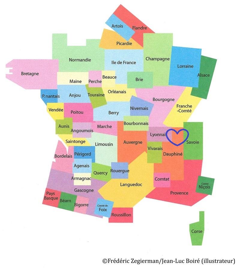 Spécialité du Lyonnais, Dauphiné et de Savoie
