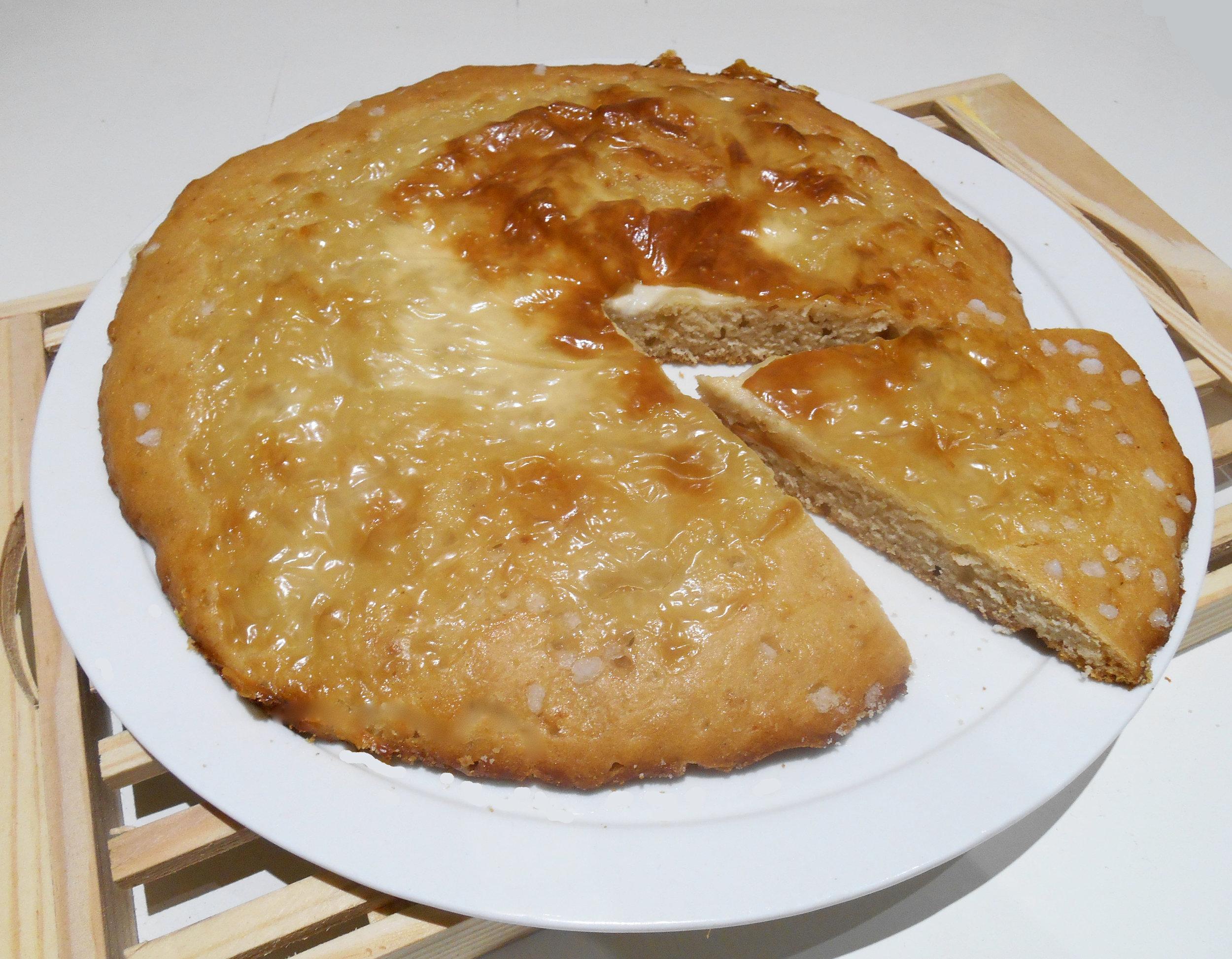 Galette bressane (sans oeuf, sans lait)