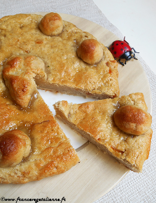 Couve de Crest (gâteau de Pâques, recette végane)