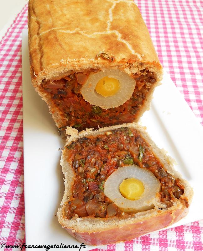 Pâté de Pâques (recette végane)