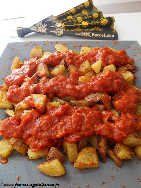 Patatas bravas (recette végane)