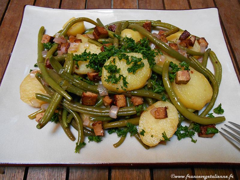 Salade liégeoise (recette végane)