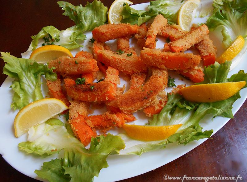 Scampi fritti de courge (vegan)