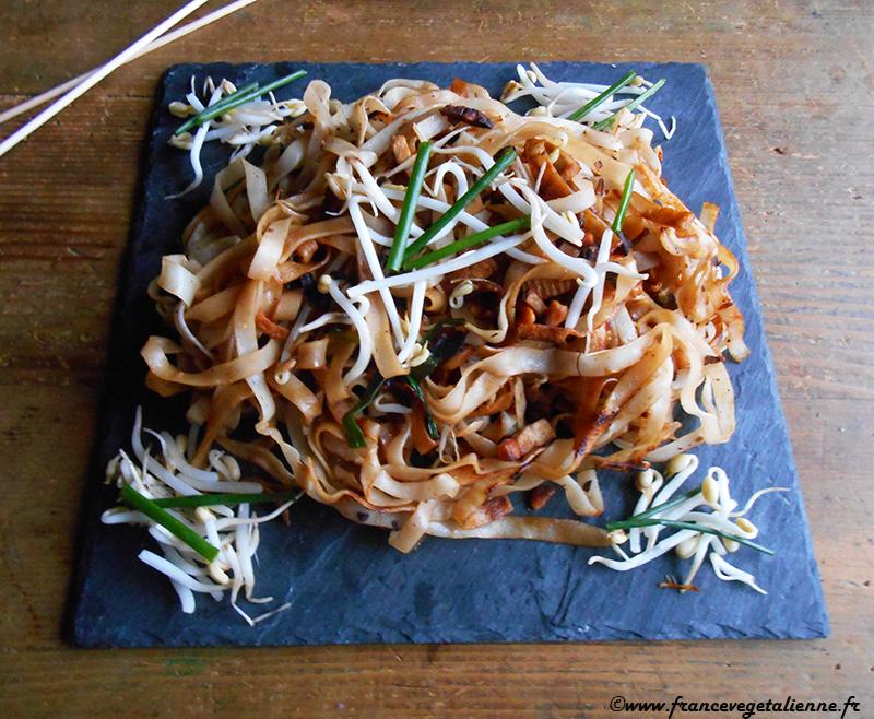 Pad thaï (recette végane)