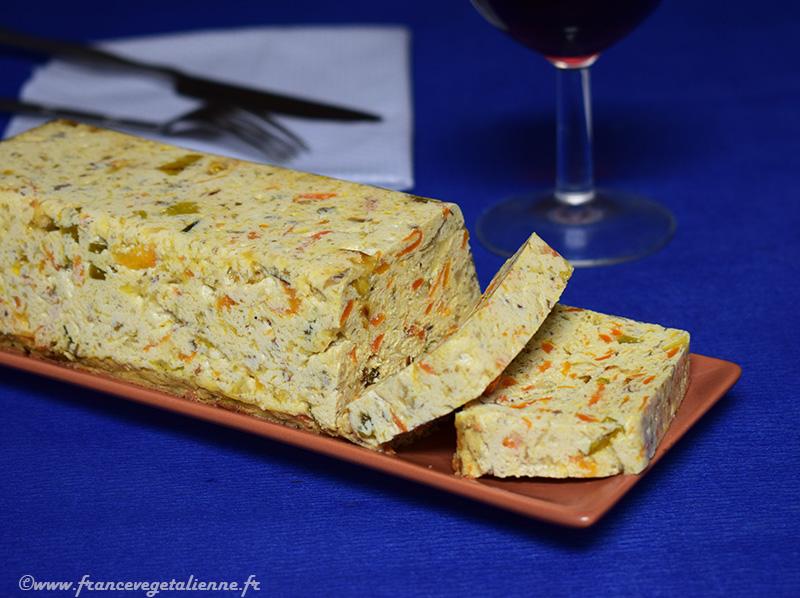 Terrine au tofu (recette végane)