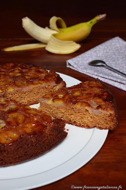 Gâteau à la banane (sans oeuf, sans lait)