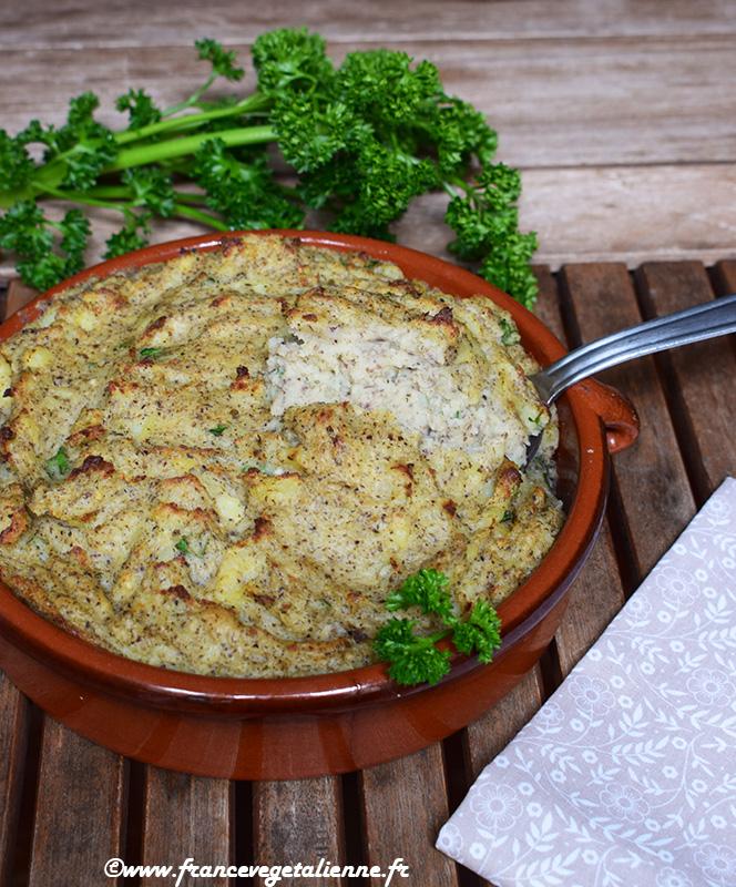 Brandade (recette végétarienne, végane)