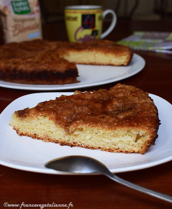 Tarte au sucre (vegan)
