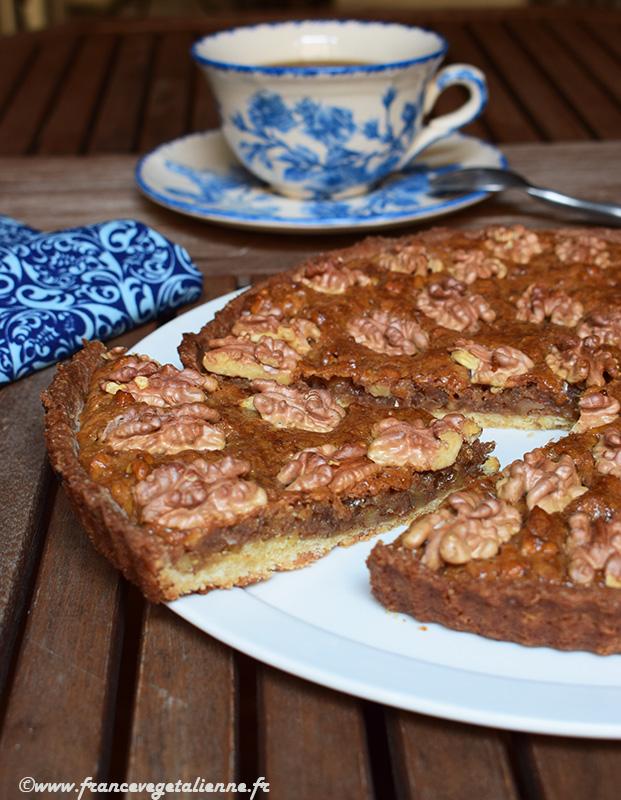 Tarte aux noix (recette végane)