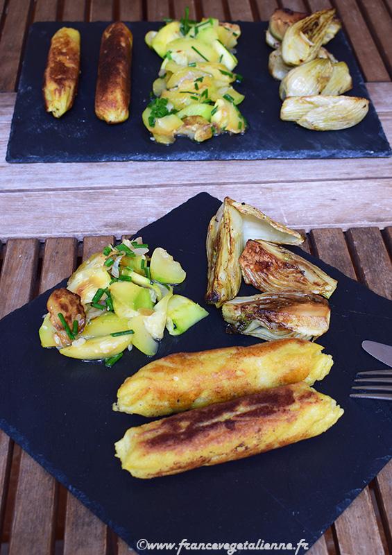 Saucisses blanches (vegan)