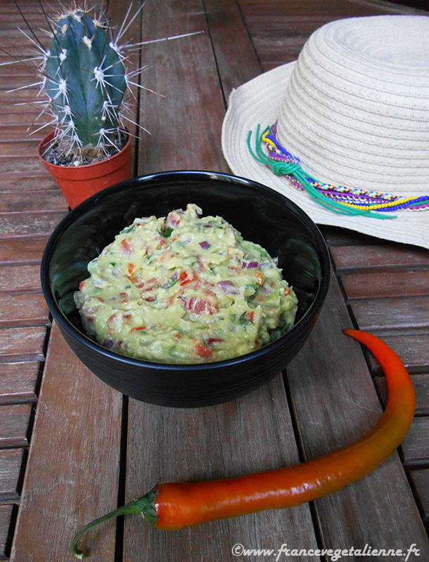 Guacamole (recette végane)