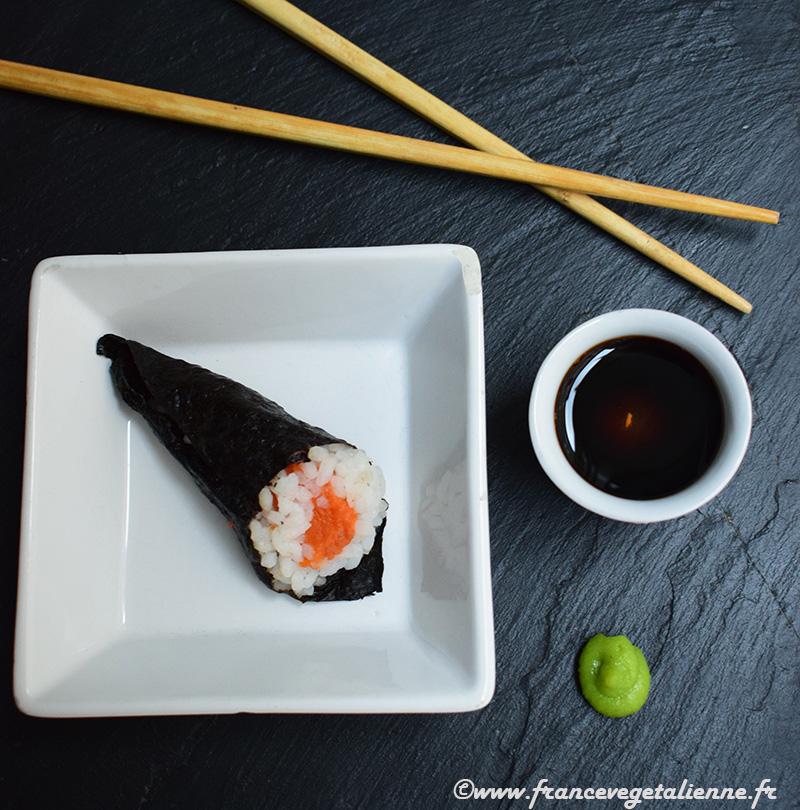 Temakizsushi (vegan)