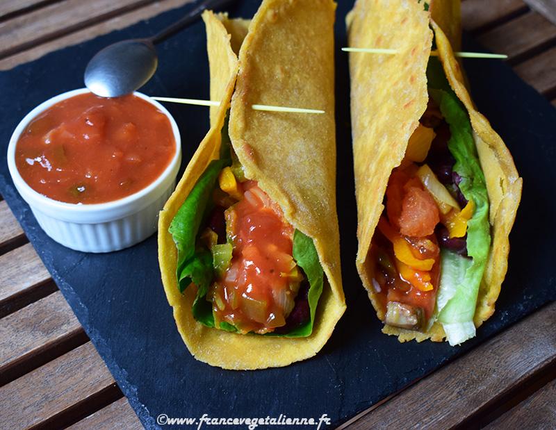 Tortillas mexicaines (vegan)