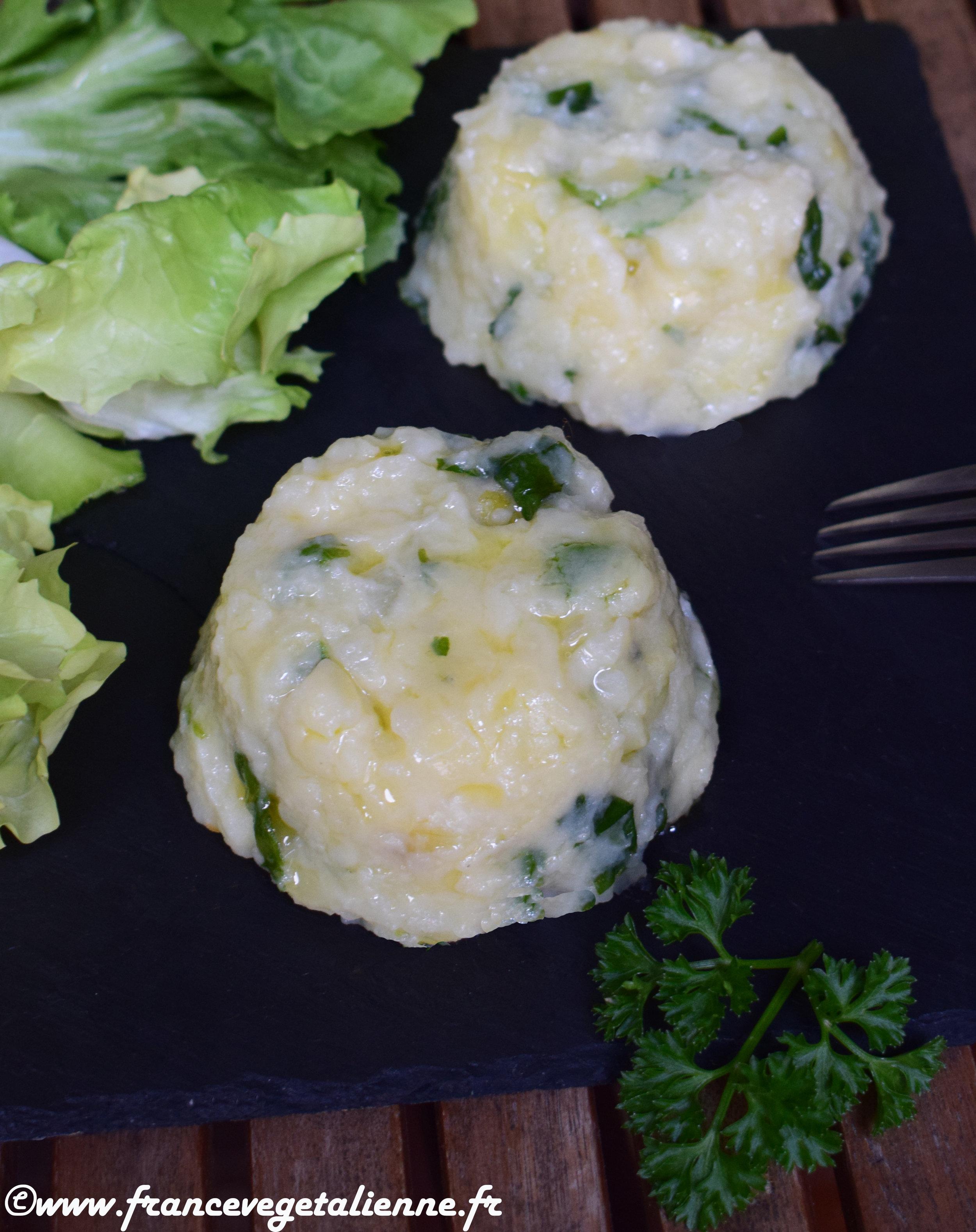 Stamppot (écrasé de pommes de terre aux légumes, recette végane)