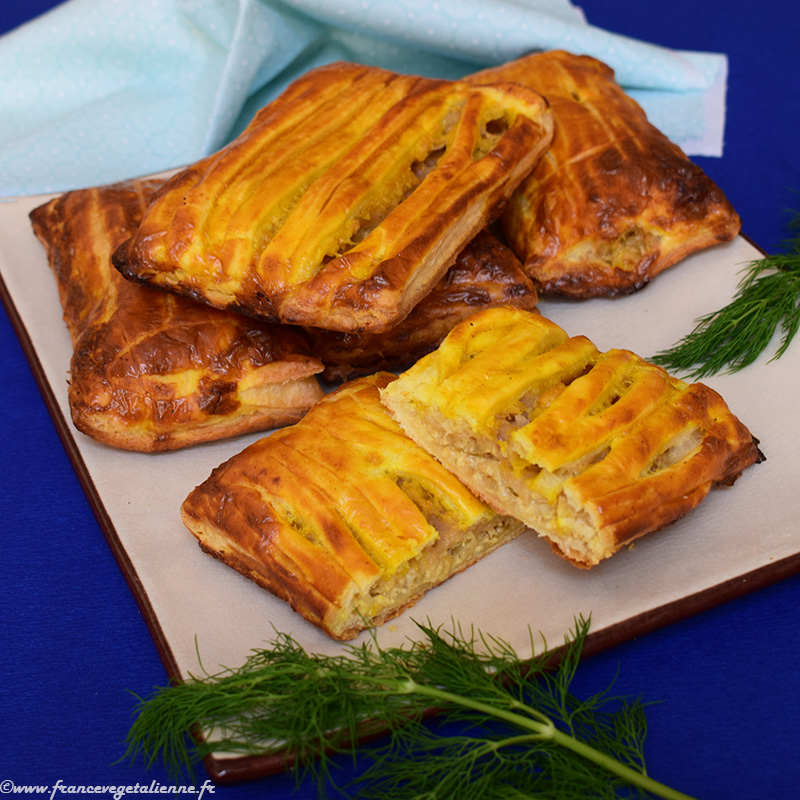 Friand au fromage végétal