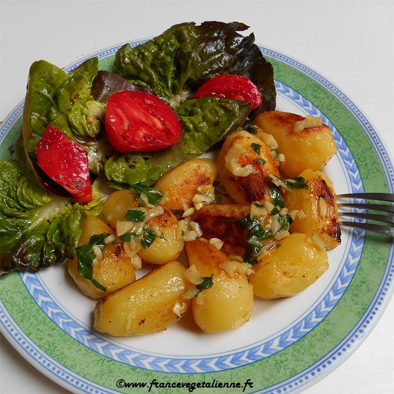 Pommes de terre à l'échirlète