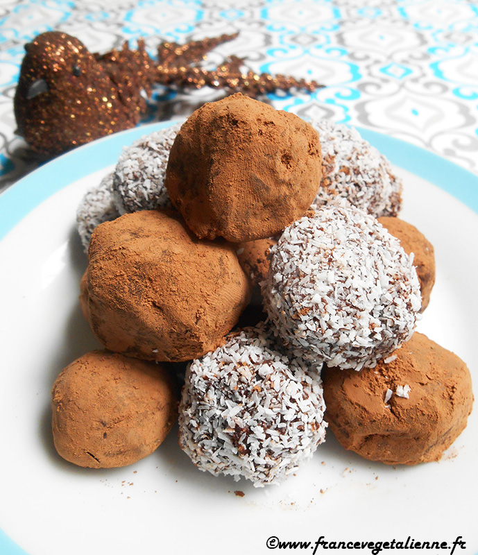 Truffes en chocolat de Chambéry