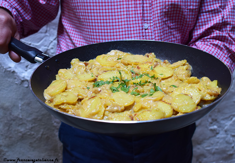 Truffade (recette végane)