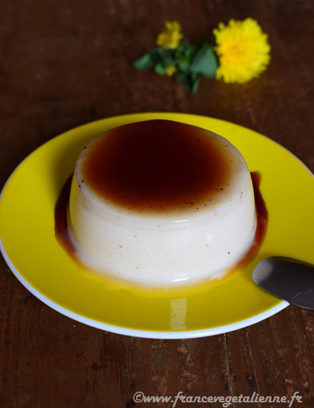 Crème caramel (vegan)