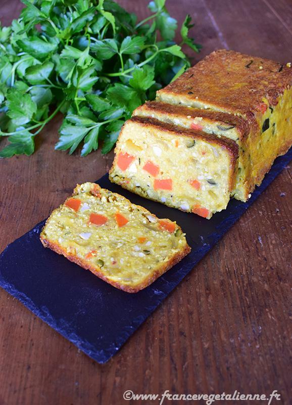 Terrine de tofu aux légumes (recette végane)
