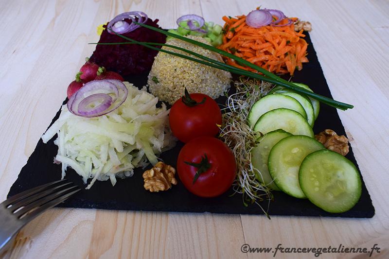 Salade gourmade (vegan)