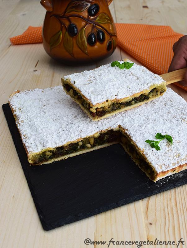 Torta de blea (tourte aux blettes niçoise)