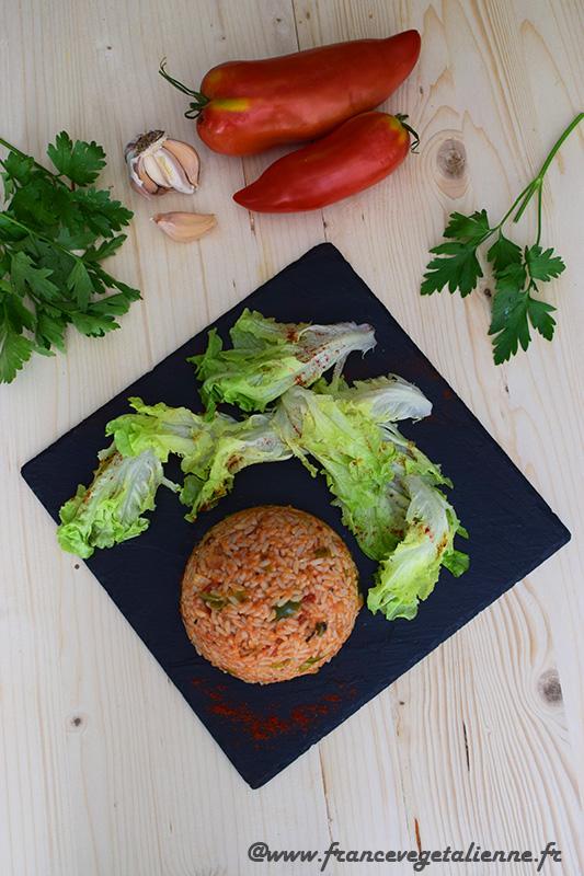 Riz à la catalane (recette végane)