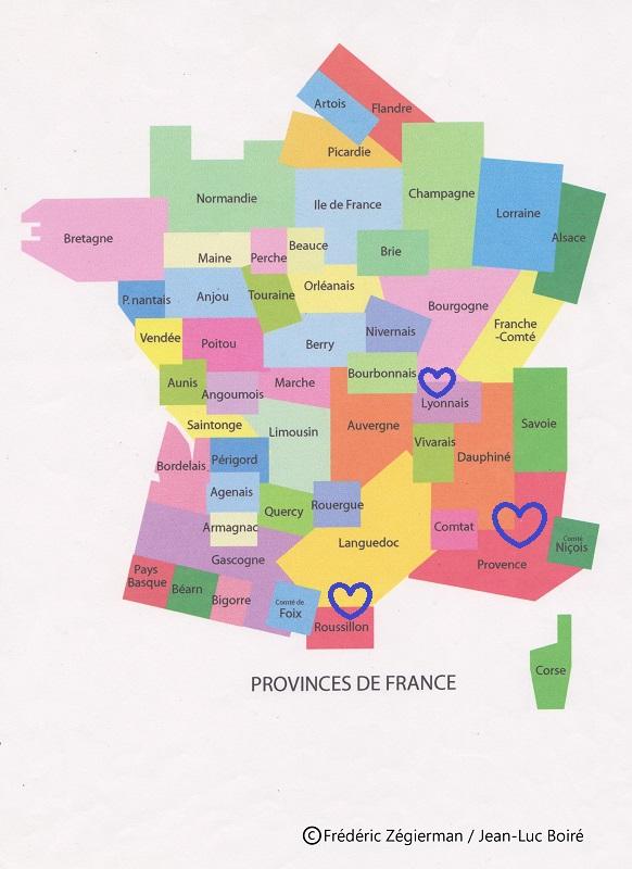 Spécialité du Lyonnais, Bourgogne, Dauphiné, Provence, Languedoc, Roussillon, Savoie, Vivarais…