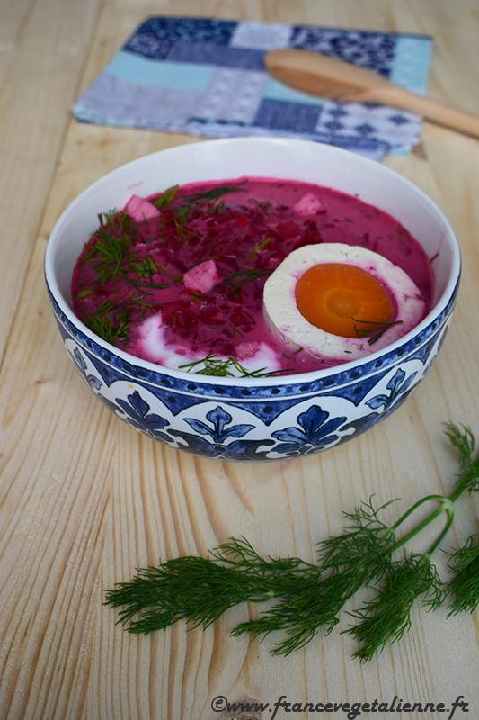 Svekolnik (soupe froide à la betterave)