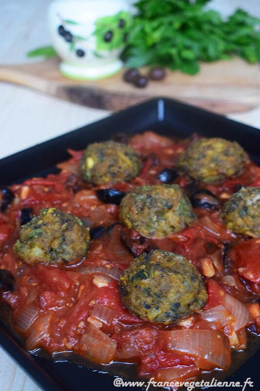 Boulettes provençales (vegan)