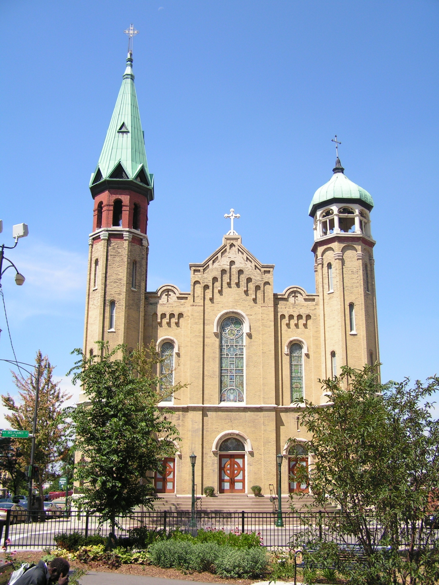 Old St. Pat's Church, an Illinois Historic Landmark, is the oldest operational public space to survive the Great Chicago Fire of 1871 .