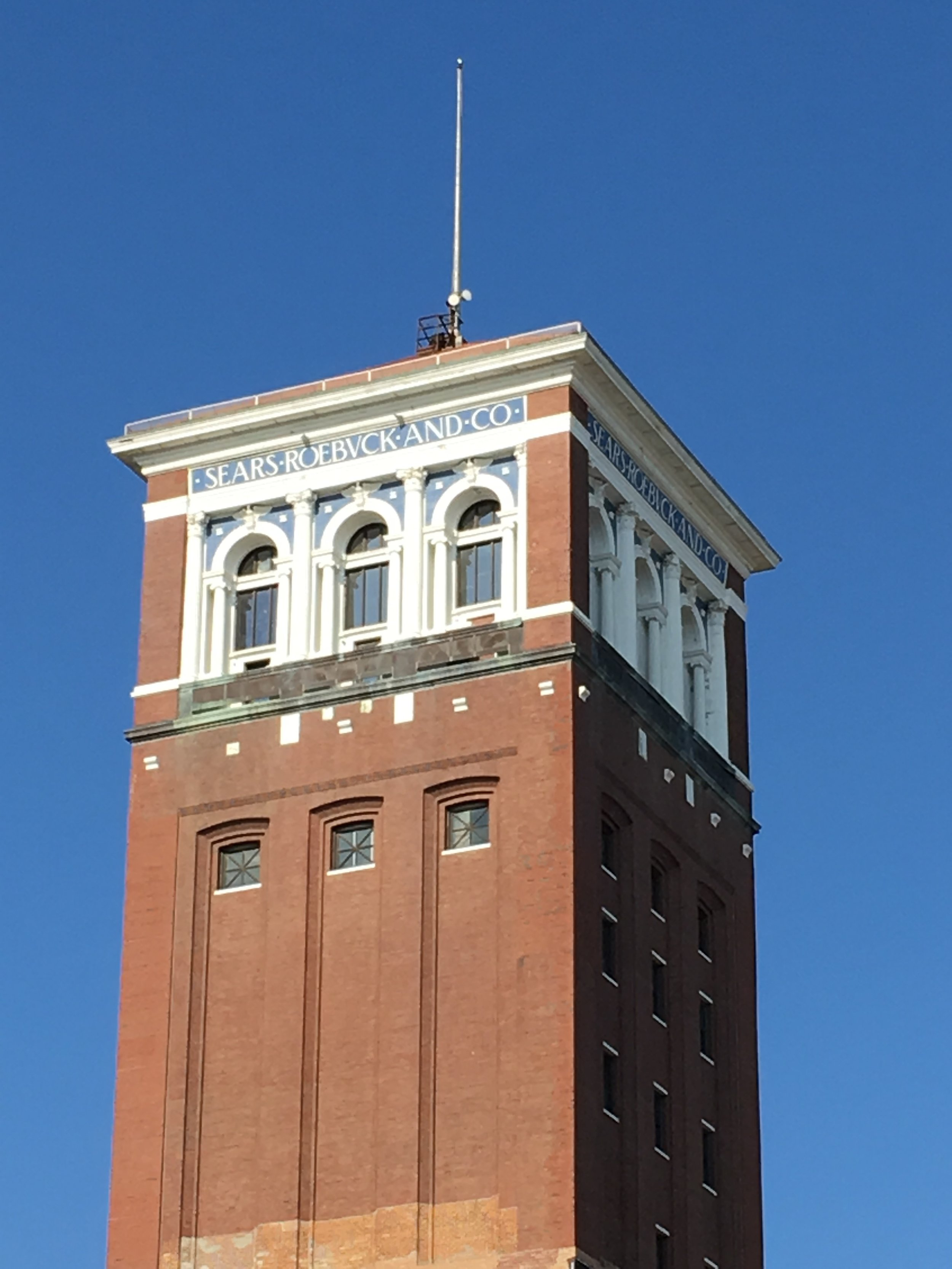 "The original Sears Tower, built in the 19th century, now called ""Nichols Tower,"" is home to several non-profit organizations serving the communiy."