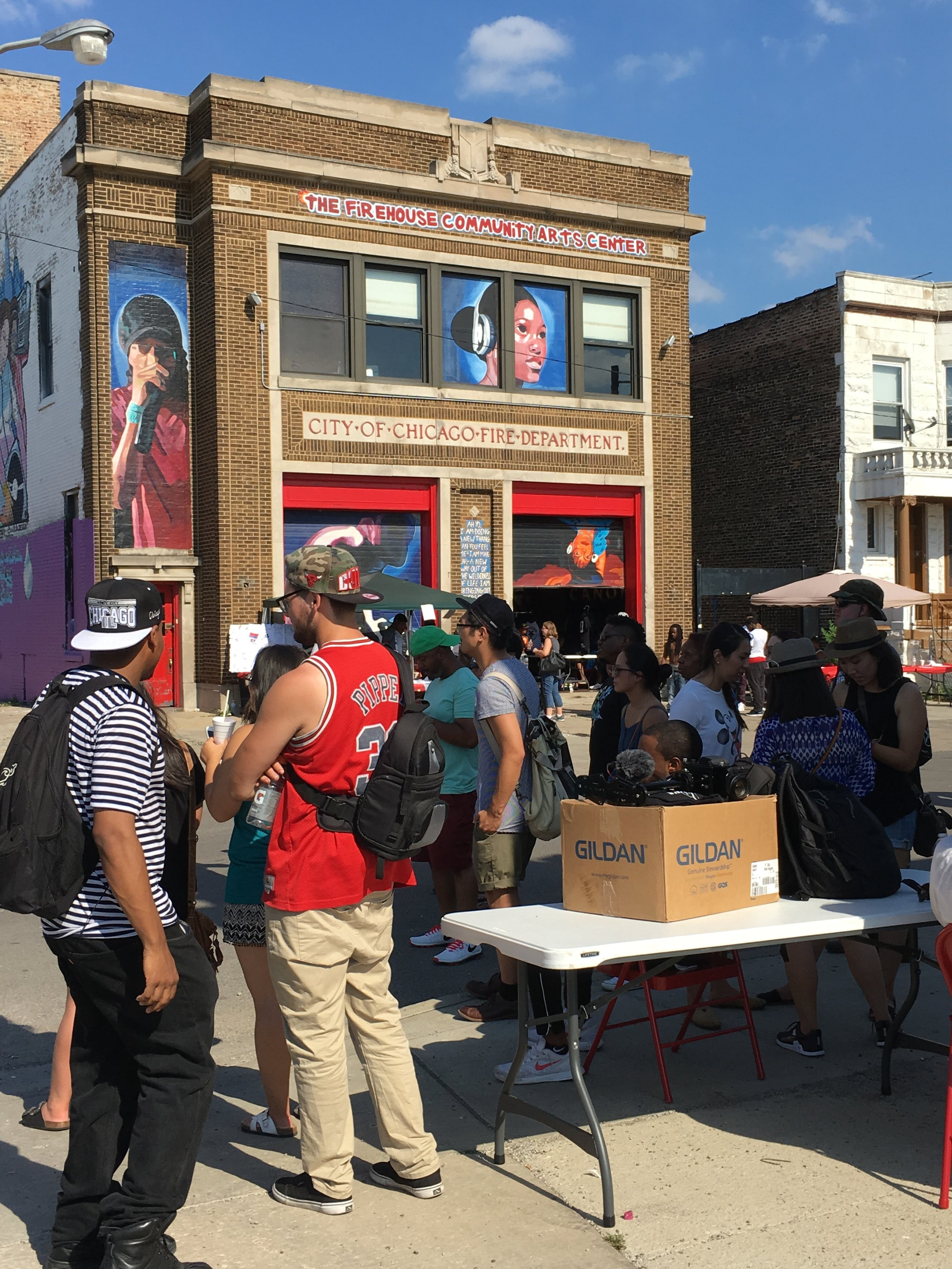 2016 Annual Hip Hop Revival, a street fair at North Lawndale's Firehouse Community Arts Center