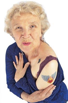 granny tatoo