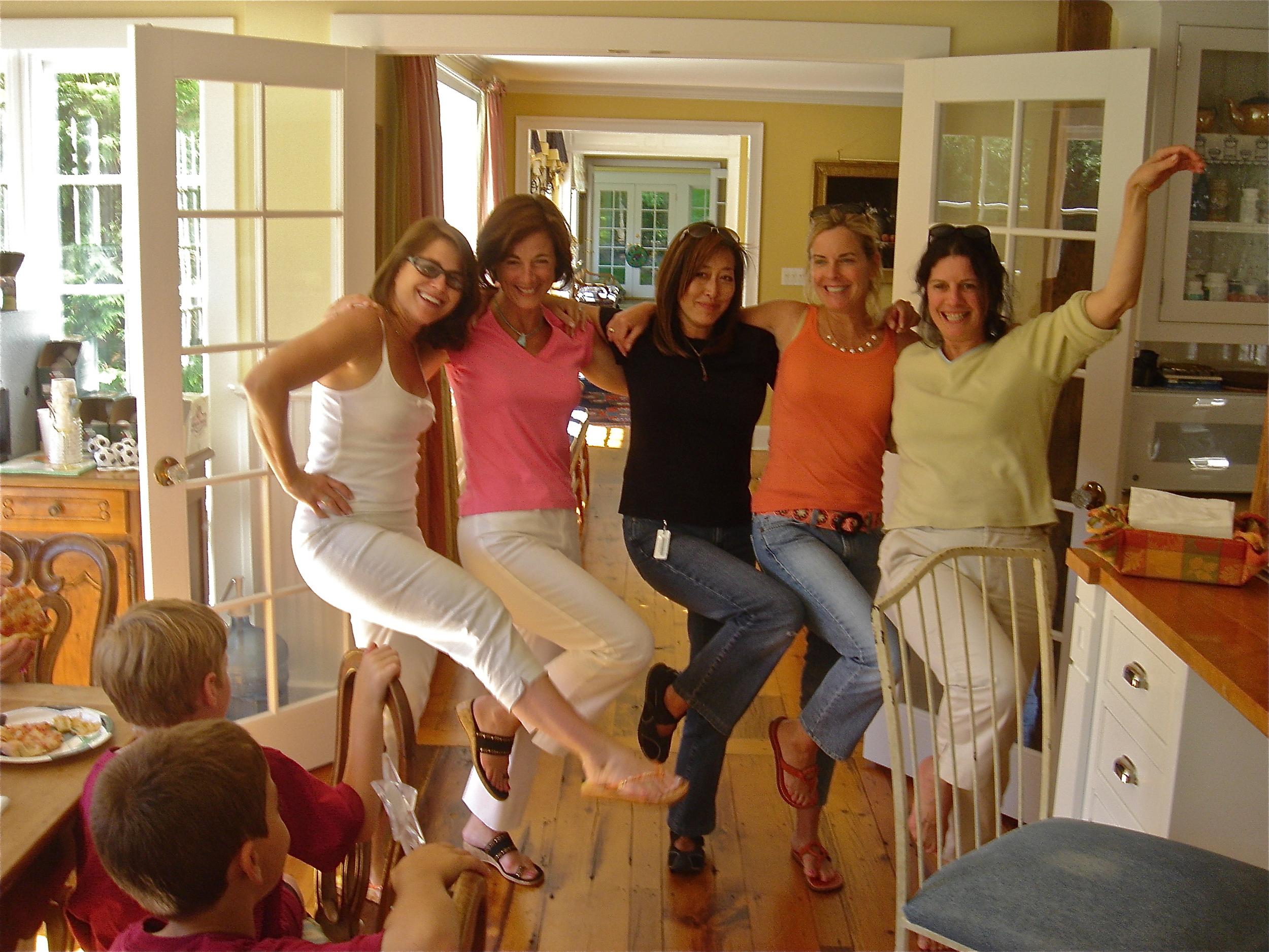 Mr. Caddell's Fab Five Doing the Fan dingo